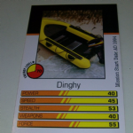 Action Man Power Cards 1996 Dinghy Trading card @sold@